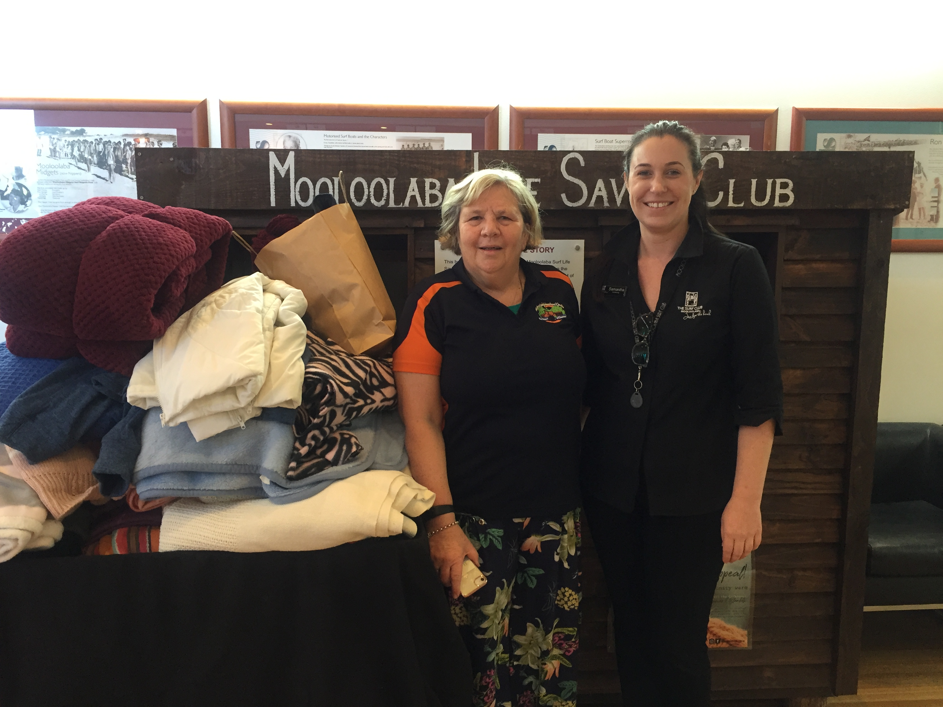 The Surf Club Mooloolaba Beanie and Blanket Appeal 2018